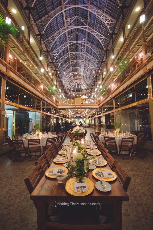 An Evening at the Arcade | Cleveland wedding venue ...