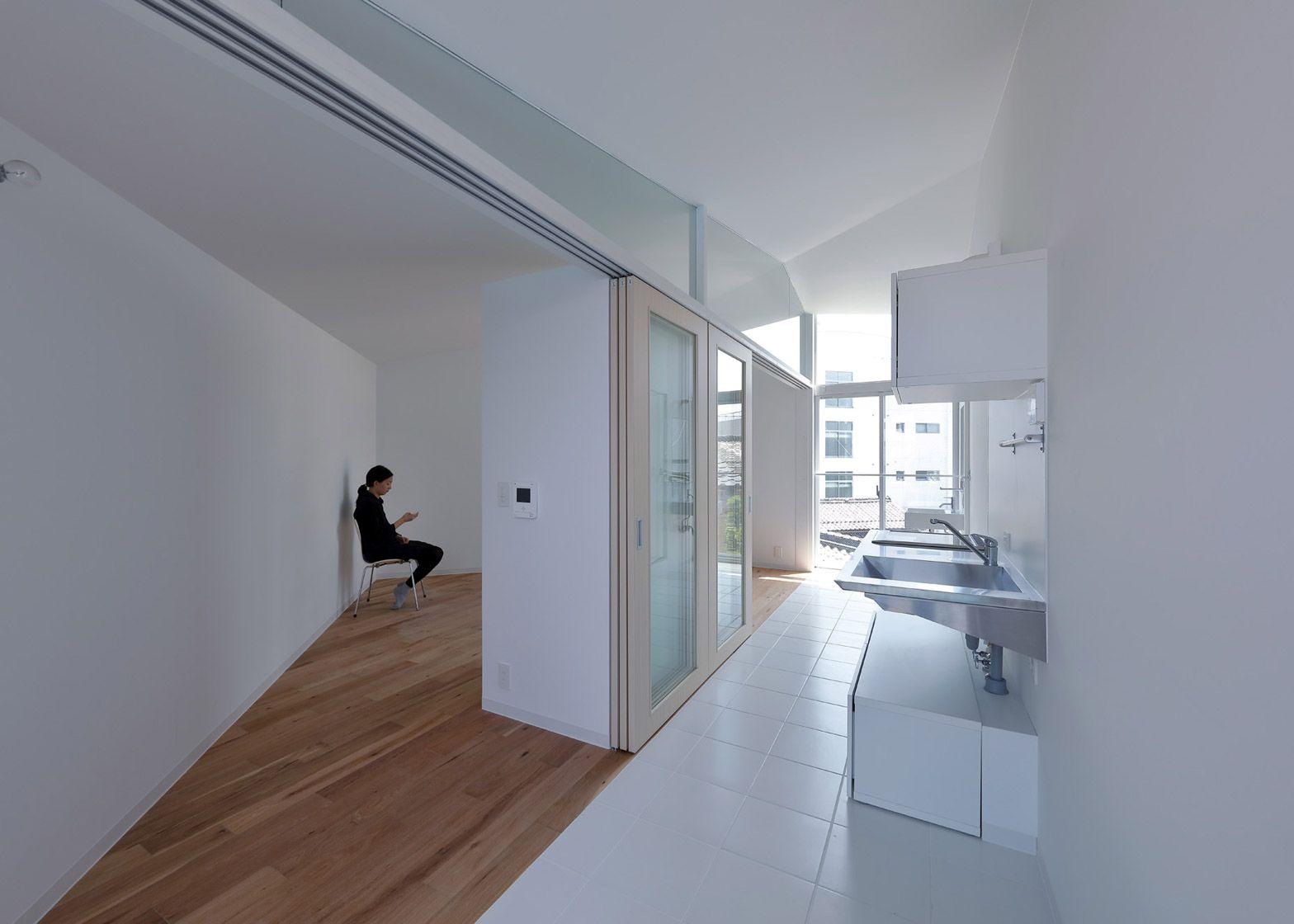 Studio Apartments, Hikone  Alphaville  VENTILATION: Each