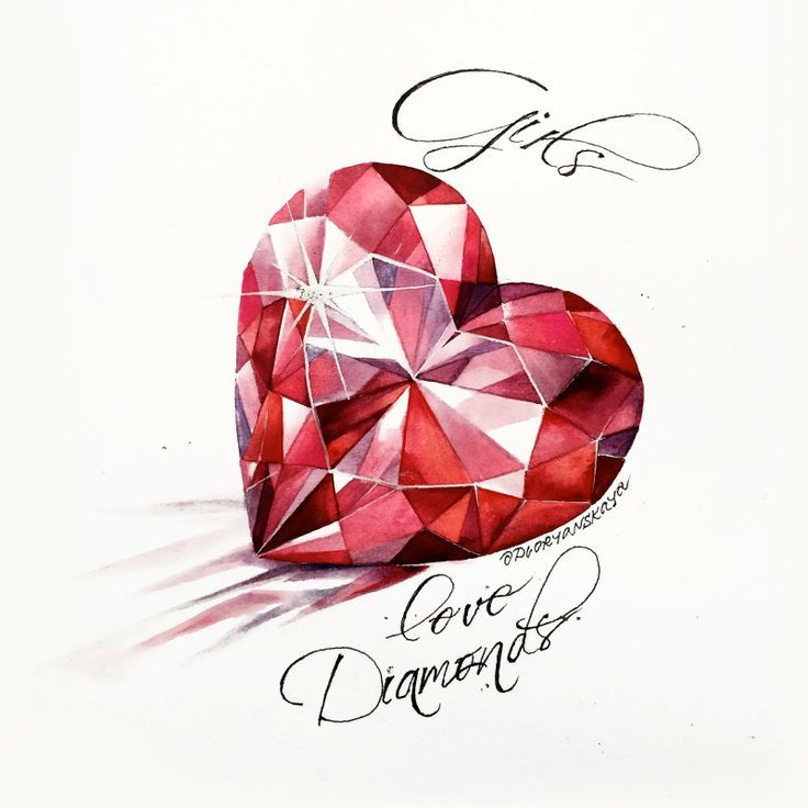 Mademoiselle Rose Gem Tattoo Jewel Tattoo Diamond Heart Tattoo
