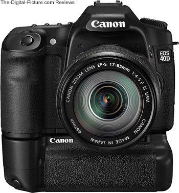 Canon Eos 40d W Battery Grip Canon Eos Canon Eos