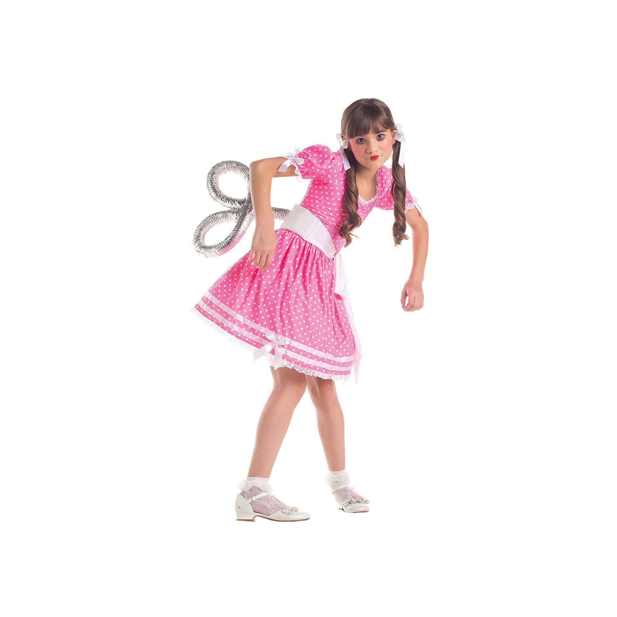 Kids Wind Up Doll Costume Girls Size 8 12 Pink Products