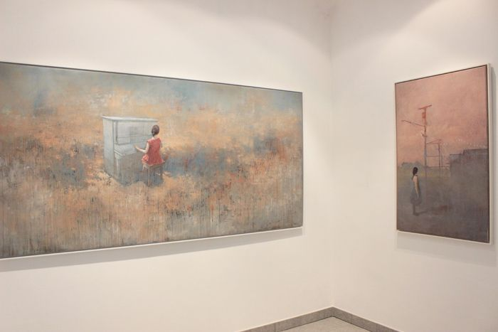 FEDERICO INFANTE | WE CAN SEE THE WIND | PUNTO SULL'ARTE | International Contemporary Art Gallery | Varese | Italy [...]
