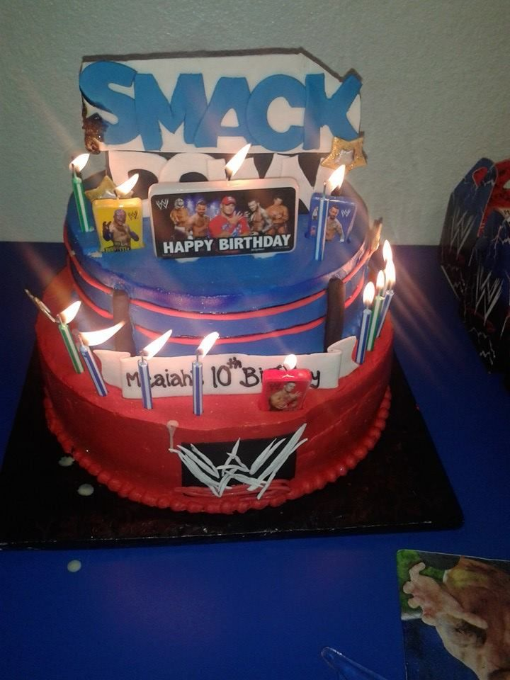 Time For Cake Smackdown Style Wwe Smackdown Birthday