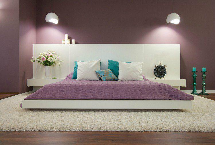 Couleur de peinture pour chambre tendance en 18 photos peinture purple bedroom paint - Idee couleur peinture chambre ...