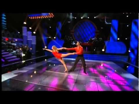 Adamari López En El Segundo Baile. De Mira Quien Baila