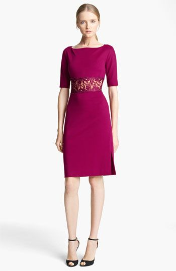 Emilio Pucci Lace Waist Punto Milano Dress | Nordstrom  http://shop.nordstrom.com/S/emilio-pucci-lace-waist-punto-milano-dress/3408736?origin=category=0==0