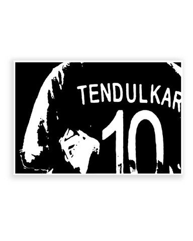 Online posters india 10 number jersey sachin tendulkar poster posterguy