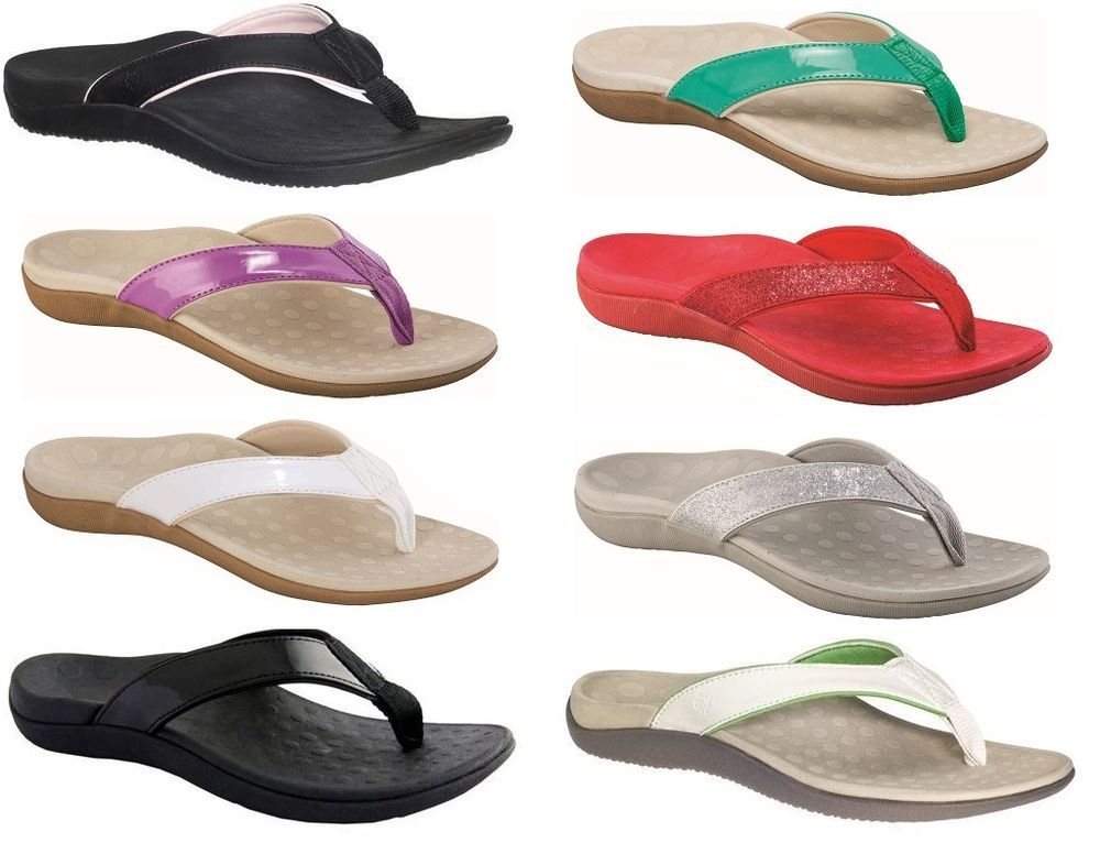 b8afc72d9b5e6f SCHOLL ORTHAHEEL ORTHOTIC WOMENS SONOMA THONGS (COLOURS SIZES ORTHOTICS  SHOES) in Clothing