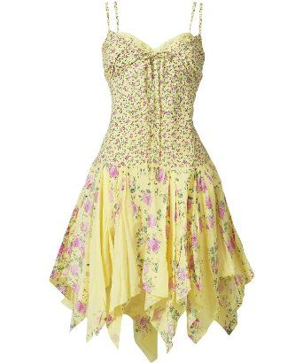 I love this summer dress - very cute. Love the bodice.