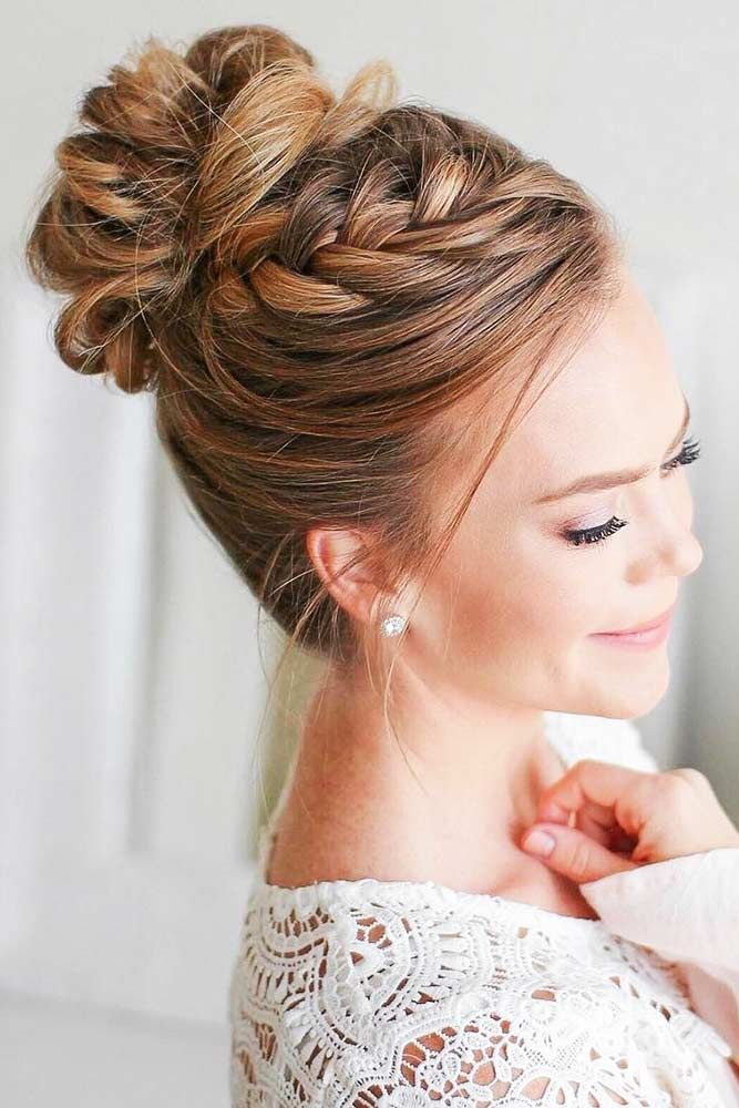 70+ Fun And Easy Updos For Long Hair #bunupdo