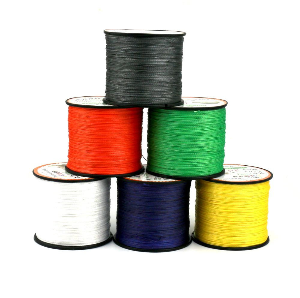 500M PE Fishing Lines 15LB - 80LB 6 colors High strength Fishing ...