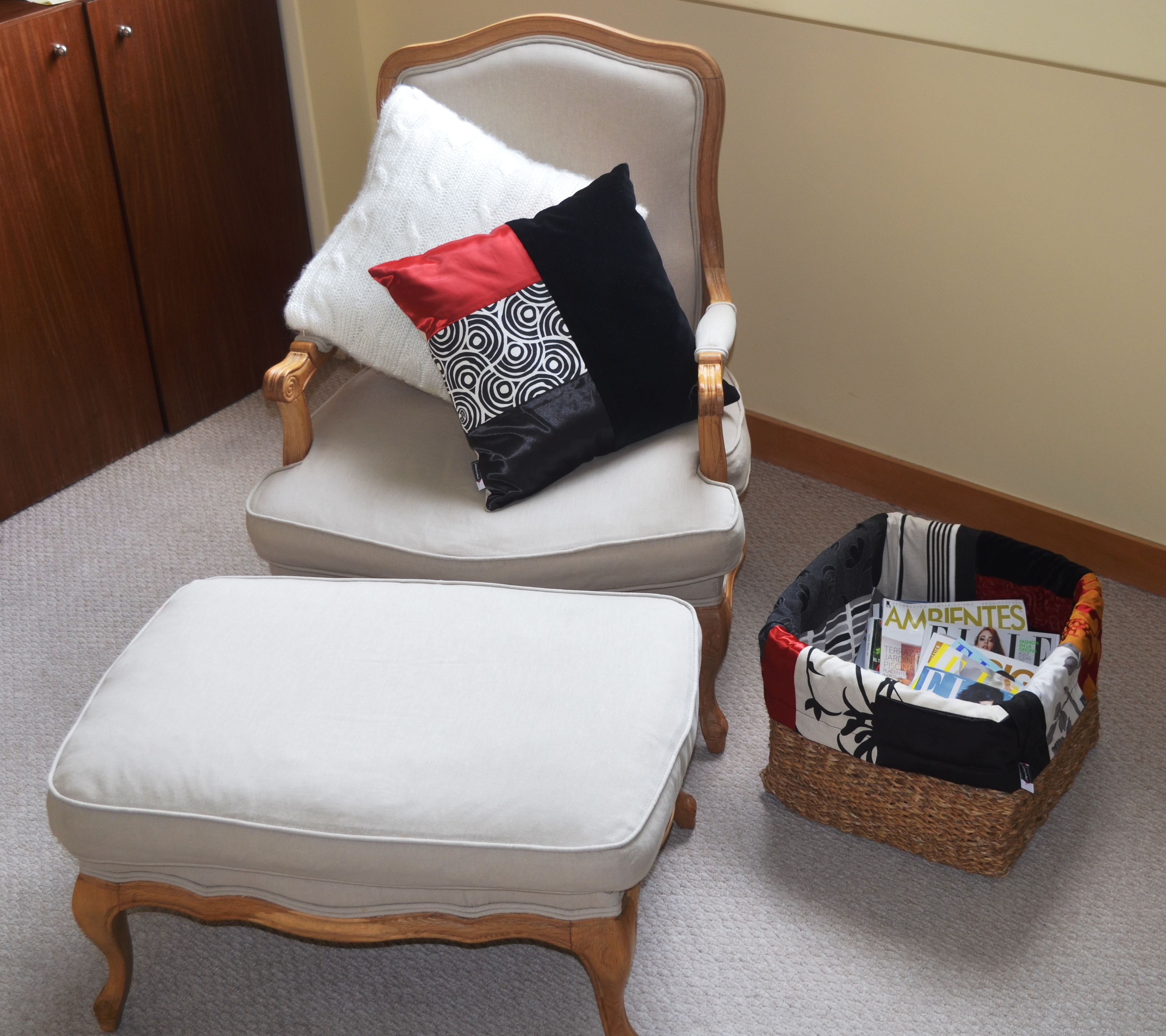Que opinas de nuestras nuevas canastas con diseño en Patchwork??...super lindas y funcionales para cualquier espacio dentro de tu hogar.