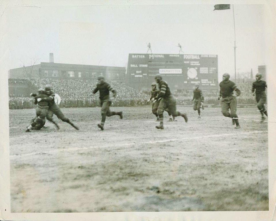 Chicago cardinals at chicago bears november 25 1925