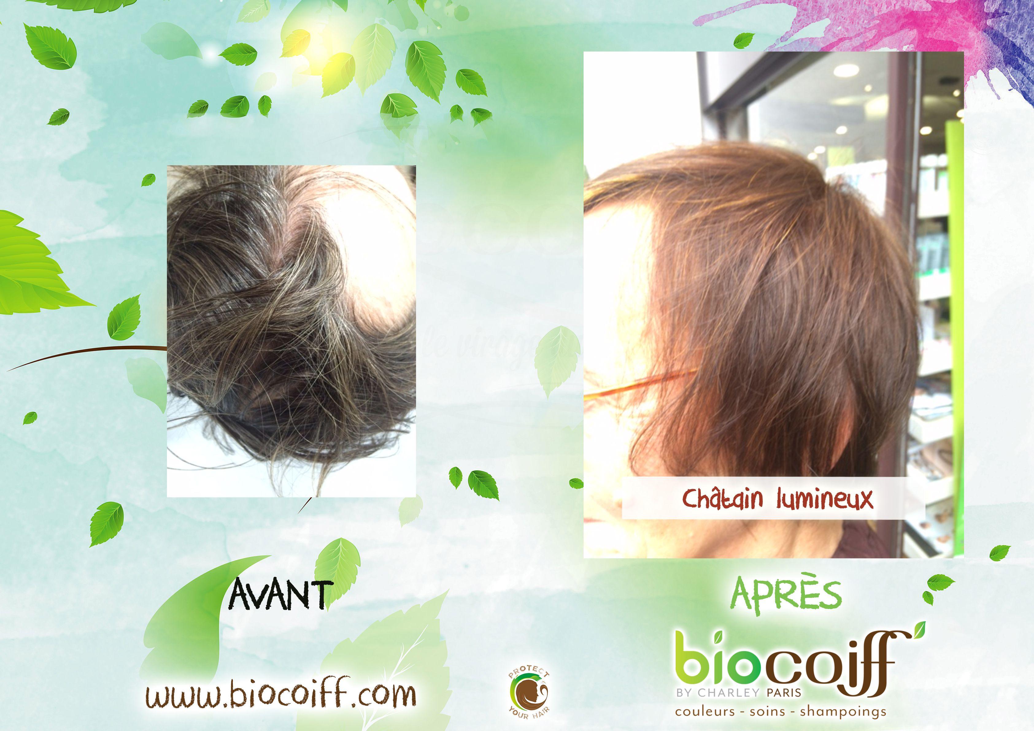 Joli Chatain Lumineux Par Notre Salon Du 13eme Natural Cheveux Coloration Biocoiff Rides Front Soigner Ses Cheveux Chatains