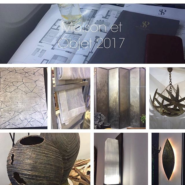 Some of Team SPI are in Paris this weekend sourcing items and checking out the latest collections at Maison et objet for our projects we are designing in 2017
