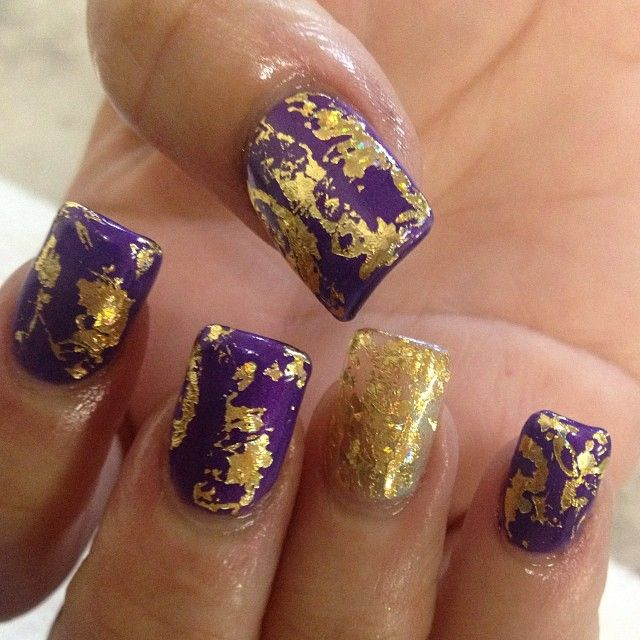 Gold and Purple!!