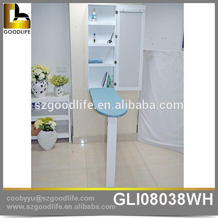 Goodlife gabinete montado en la pared de ahorro de espacio for Mueble planchador ikea