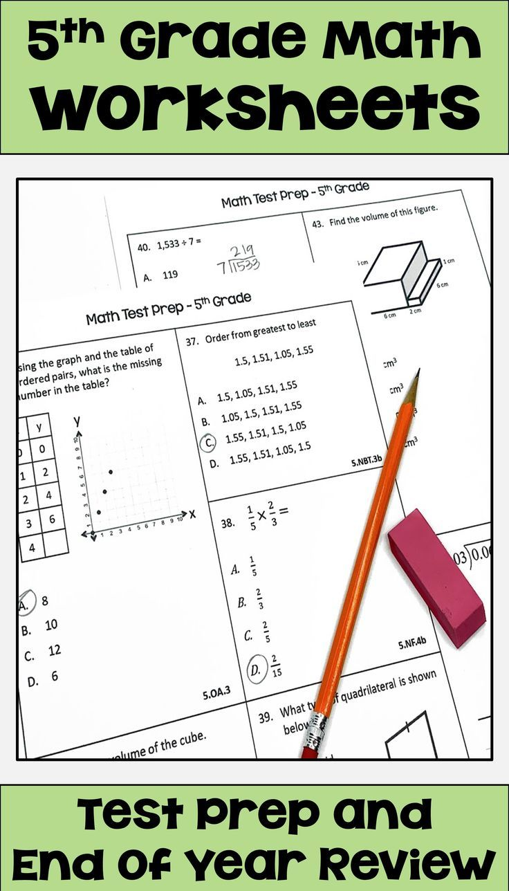 Pin on Upper Elementary Math Test Prep & Review