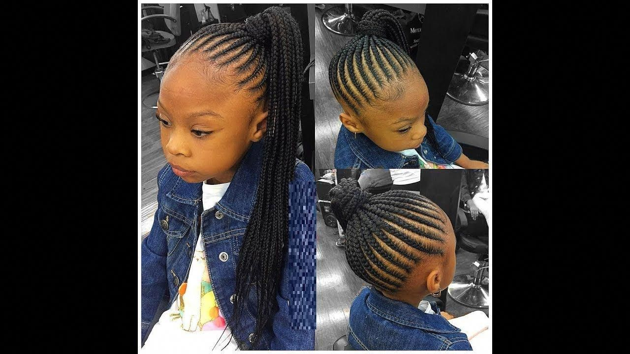 Hair Braiding Styles For Little Girls 2018 Hairstyles For The