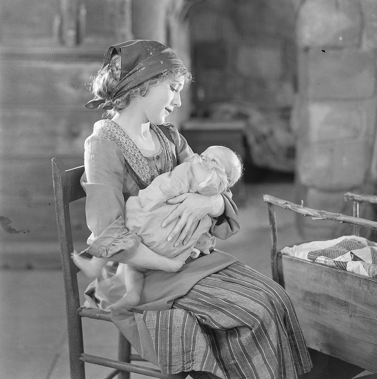"""Mary Pickford en """"The Love Light"""", 1921"""