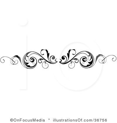 scroll clipart 36756 by onfocusmedia royalty free rf stock rh pinterest co uk Wedding Letter Border wedding scroll clipart