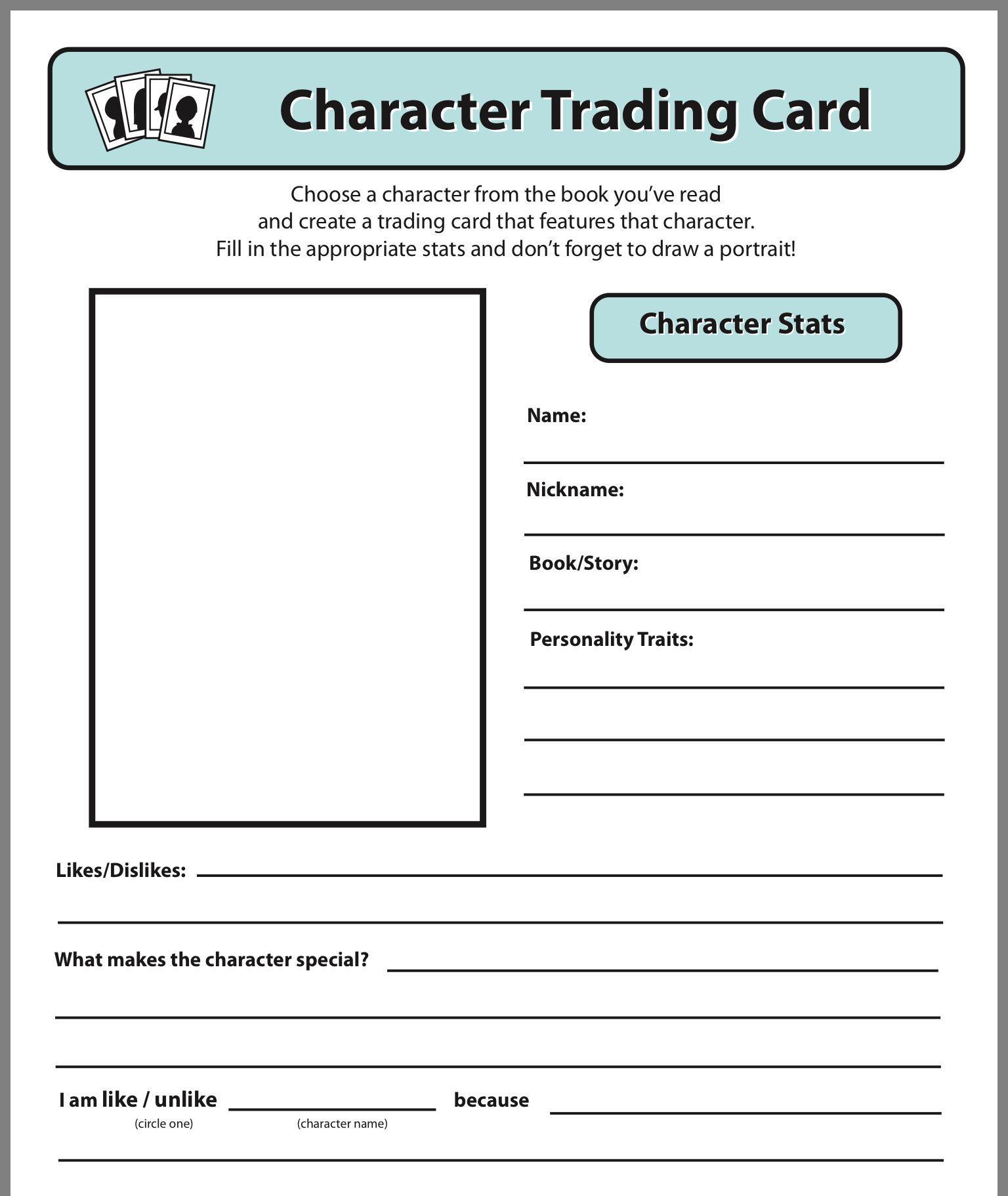 Trading Card Template Trading Card Template Baseball Card Template Trading Cards