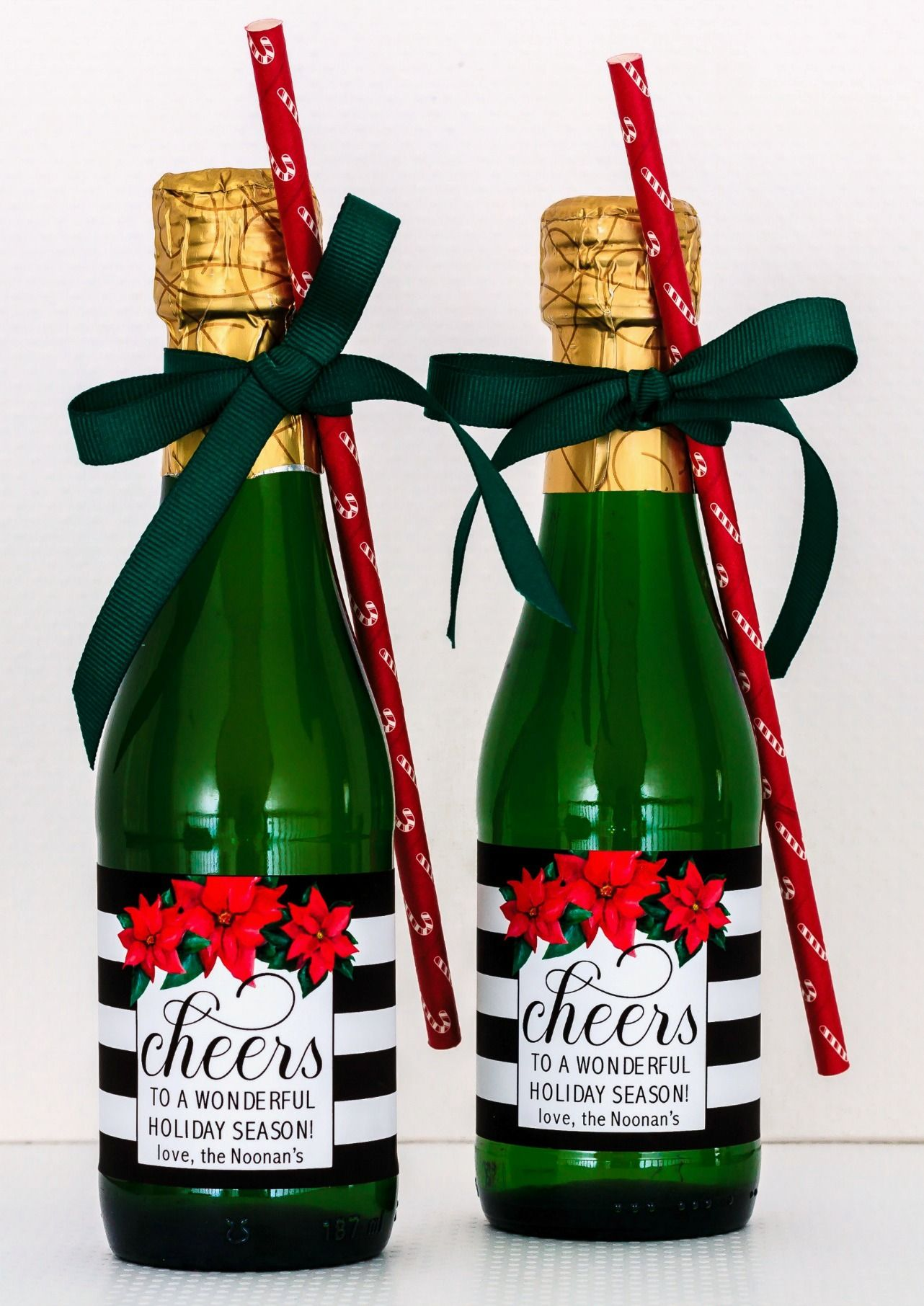 champagne christmas gifts