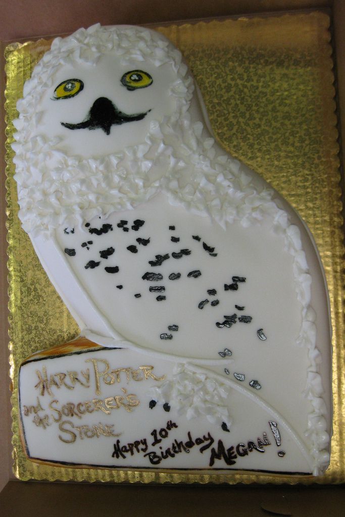 Image Result For Snowy Owl Cake Harry Potter Cake 13