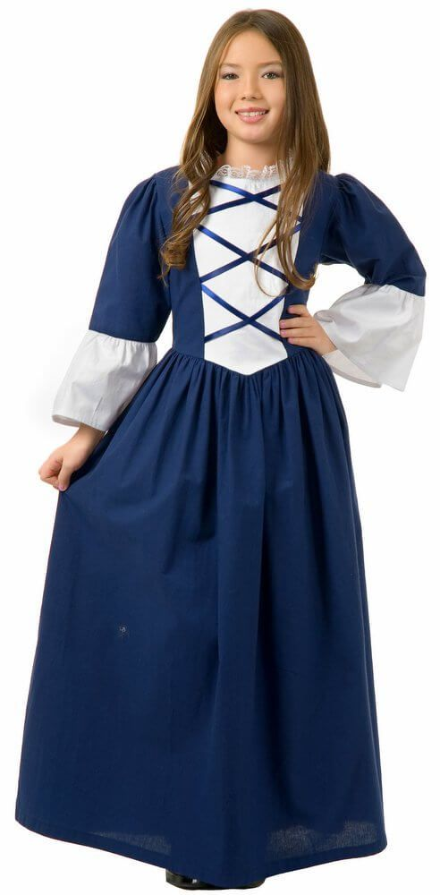 fa0fc84eace Child s Deluxe Martha Washington Costume - Candy Apple Costumes - 4th of  July Costumes