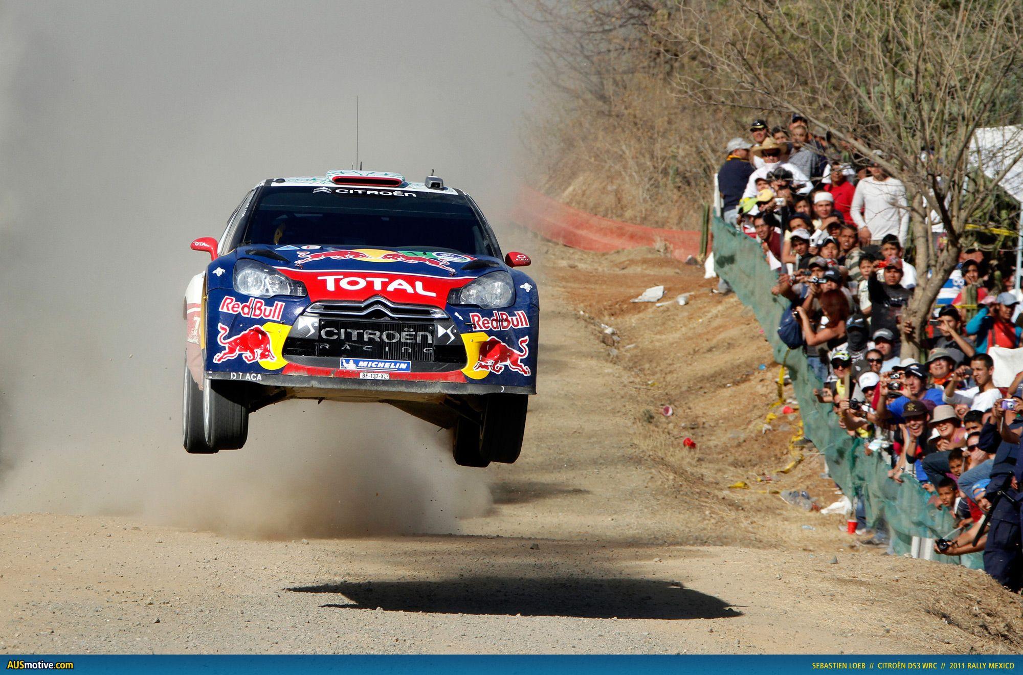 Ausmotive Com Sebastien Loeb Wins Rally Mexico Citroen C4 Rally Car Citroen