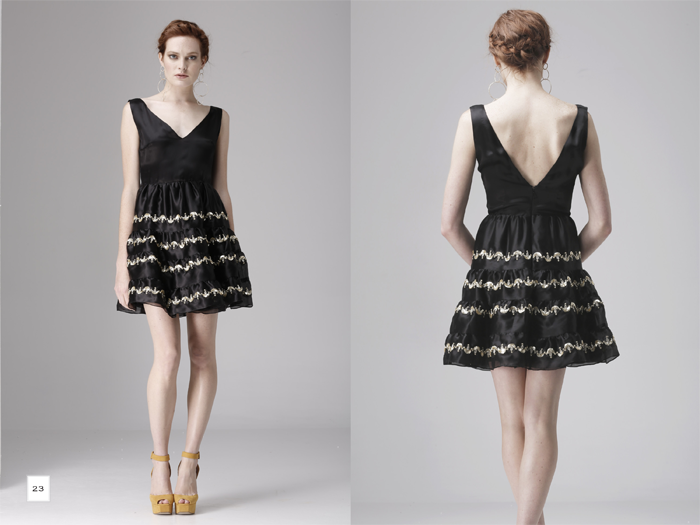 Dress designed by Razan Alazzouni SS13 Collection www.razanalazzouni.com/summer