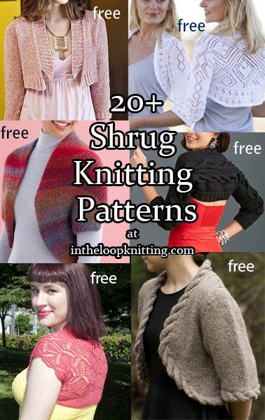 Shrug And Bolero Knitting Patterns Shrugs And Boleros Are Great For