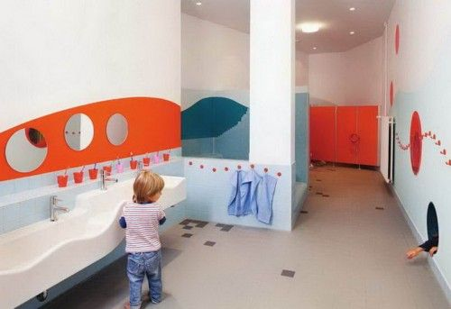Creative And Colorful Kindergarten Day Care By Baukind For Kita