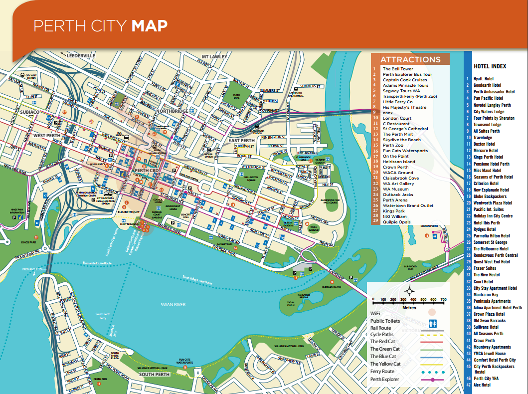 Perth City Map | About / Western Australia in 2019 | Map, City maps on cottesloe beach perth australia, ywam london, missions in australia, ywam kona hawaii, ywam sydney,