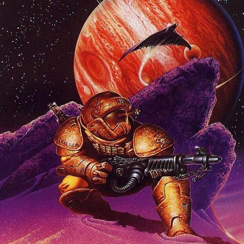 Vintage Science Fiction Wallpaper