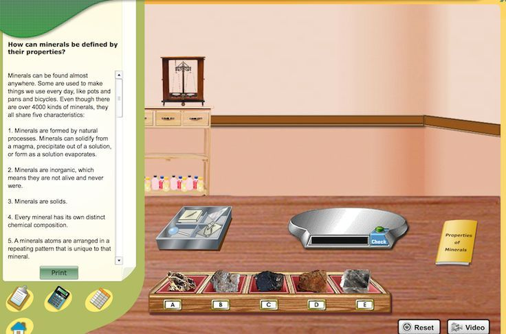 How Can Minerals Be Defined By Their Properties Virtual Lab