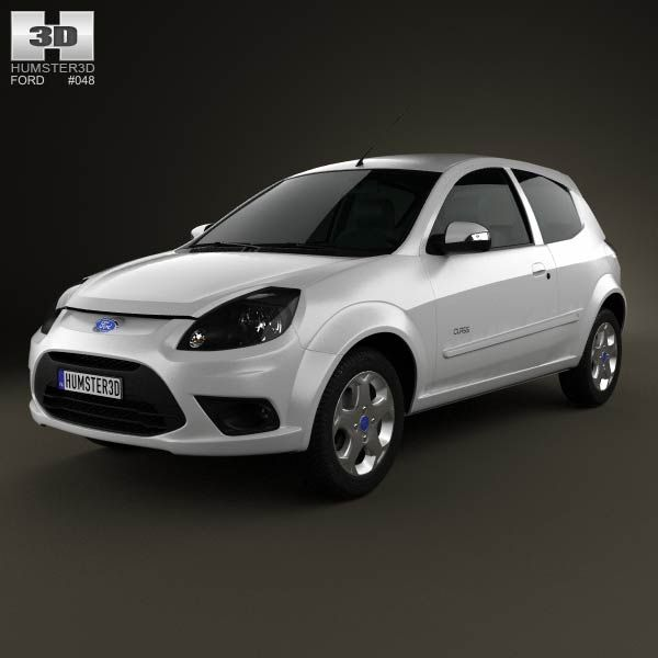 Ford Ka Brazil 2012 3d Model From Humster3d Price 75