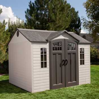 Costco Lifetime 10 Ft X 8 Ft Outdoor Storage Shed Backyard Shed Outdoor Storage Sheds Shed