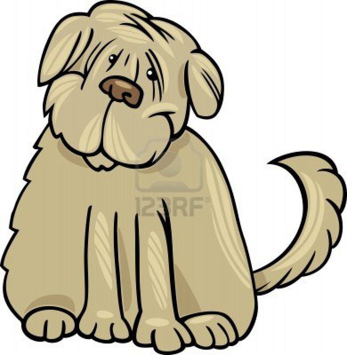 cartoon_illustratie_Tibetaanse-Terrier