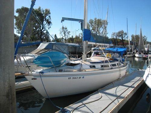 1981 Catalina 30 Sailboat Basic Operations Manual Sailboat Catalina Ocean Sailing