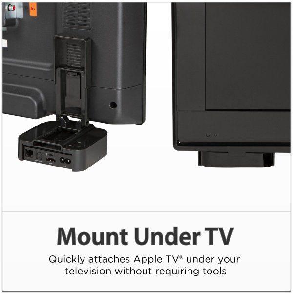 Totalmount Apple Tv Mounting Shelf Updated Design Amazon Electronics Apple Tv Mounted Tv Storage And Organization