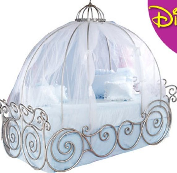 Cinderella Bed For My Daughter Pinterest