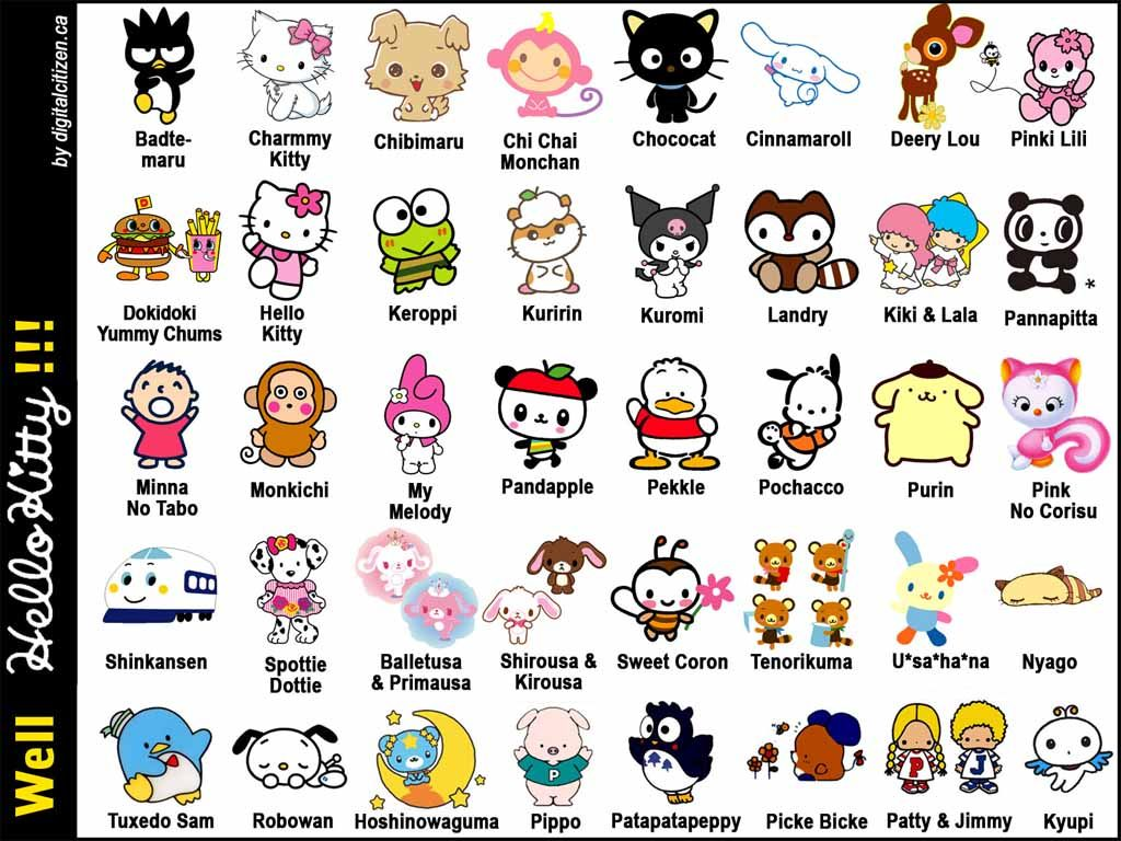 Hello Kitty And Friends Pictures Hello Kitty Characters Hello