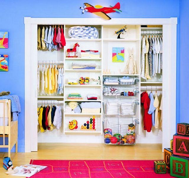 Armarios empotrados para el dormitorio de los ni os 2 deco e ideas para la casa y el jardin - Organizar armarios empotrados ...