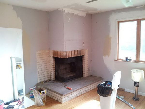 How To Remove A Chimney Or Fireplace Yourself Corner Fireplace