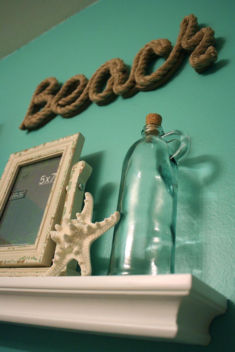 Bathroom Lovely Beach Themed Bathroom Decoration With Turquoise