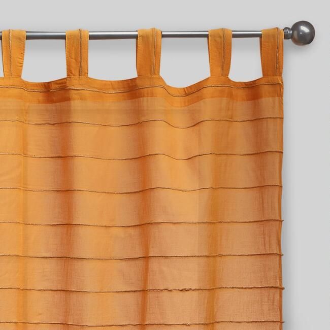 Our Amber Striped Jute Curtains Are Perfect For Any Room In Your