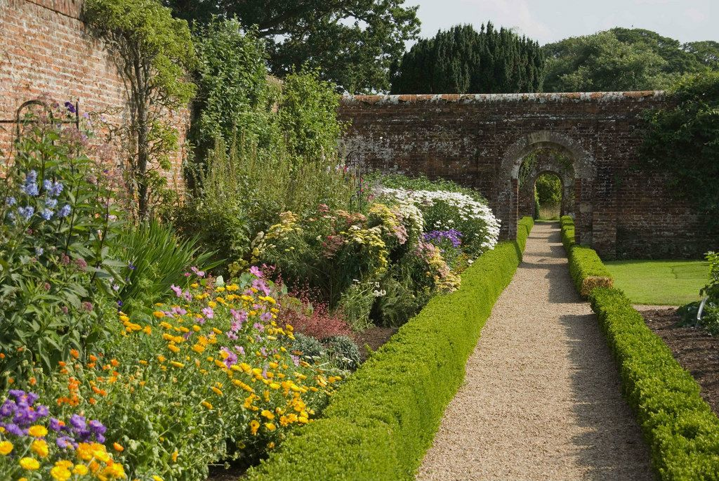 the walled garden at felbrigg hall norfolk england on walled id=88688