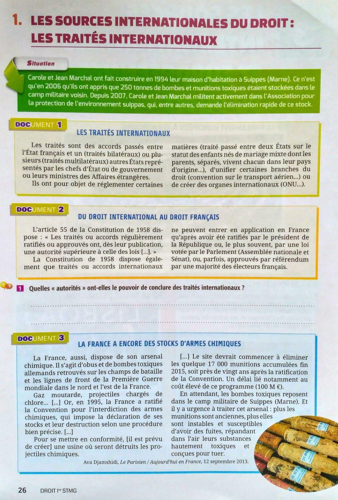 Annexe 2 Cour De Droit Sociologie Separation Pouvoir Dissertation Constitutionnel