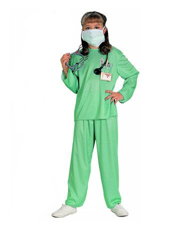 Take a look at this Teal E.R. Doctor Dress-Up Outfit - Kids on zulily today!